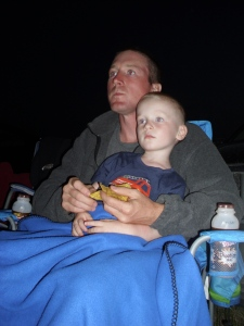 Watching Brave at the drive-in