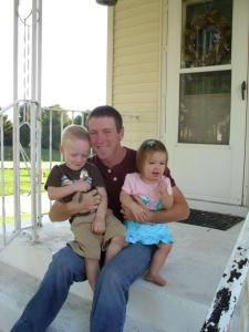 J and kids-first day of classes this fall