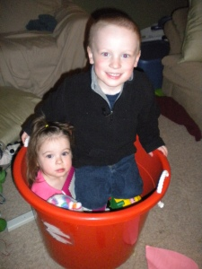 What's more fun than a big bucket built for two?