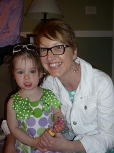 Aunt Mel and L :)