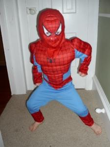 Good evening from Spiderman (AKA Gabriel)