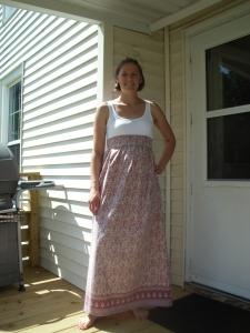 Dress from a sheet!