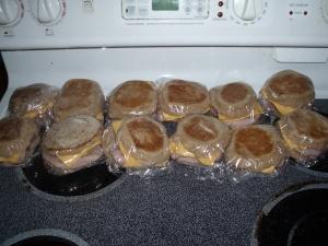 A dozen healthy 'mcmuffins'