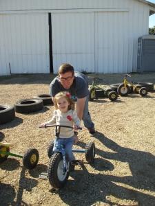 Trike racing!
