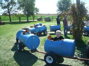 Barrel train fun