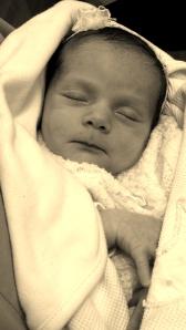 Sleeping like an angel :)
