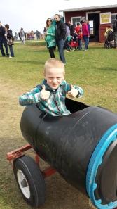 Barrel train!