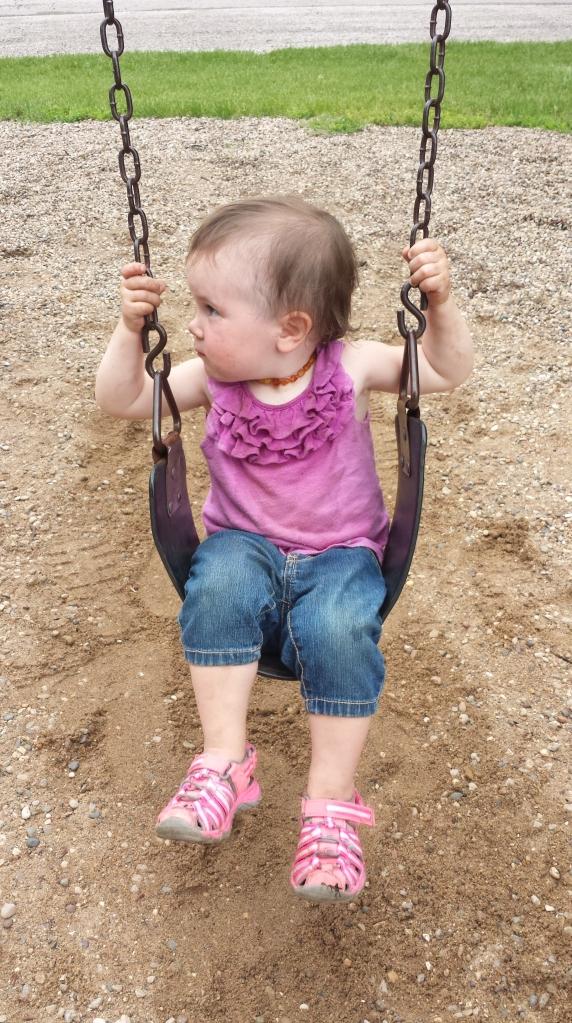 A lovin the big swings!
