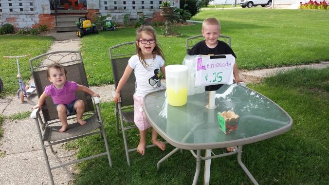 Lemonade for sale!