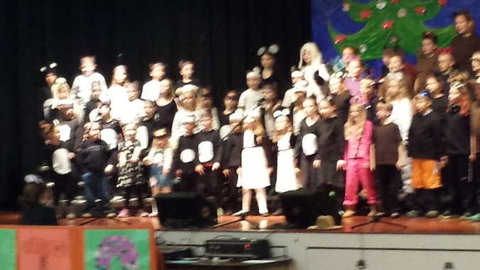 'Bear-y Merry Christmas' concert!